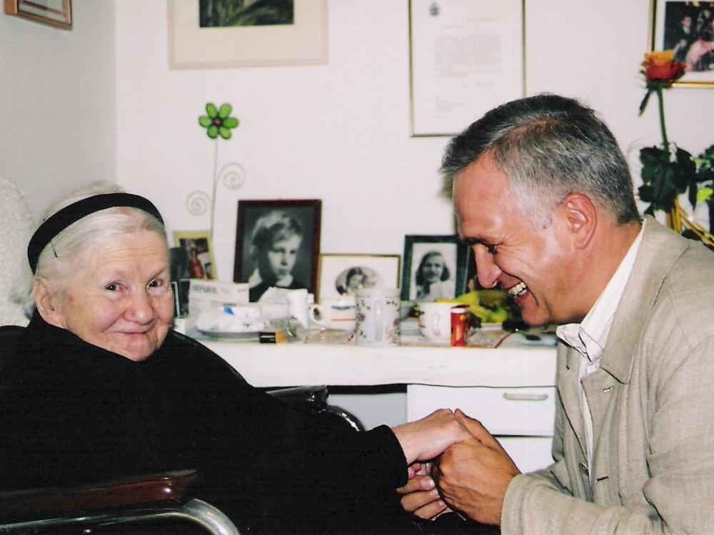 Irena Sendlerowa i Zbigniew Nosowski