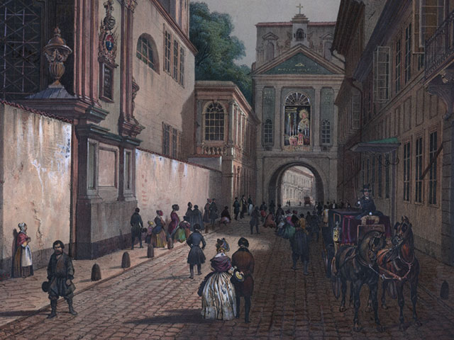Ostra Brama, Wilno, XIX w.