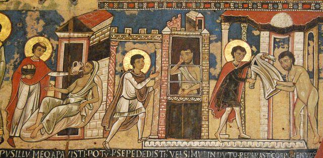 Uczynki Miłosierdzia-Mezea Watykańskie-Laboratorium Więzi