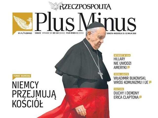 """""""PlusMinus"""", okładka wydania z 21-22 maja 2016 r."""