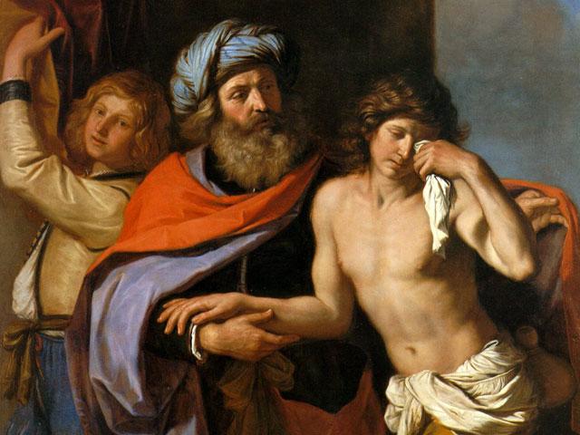 """Guercino, """"Powrót syna marnotrawnego"""" (1654-55)"""
