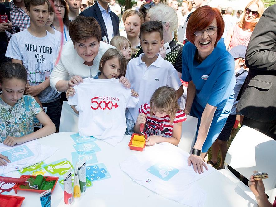 Dzień Dziecka w Kancelarii Premiera