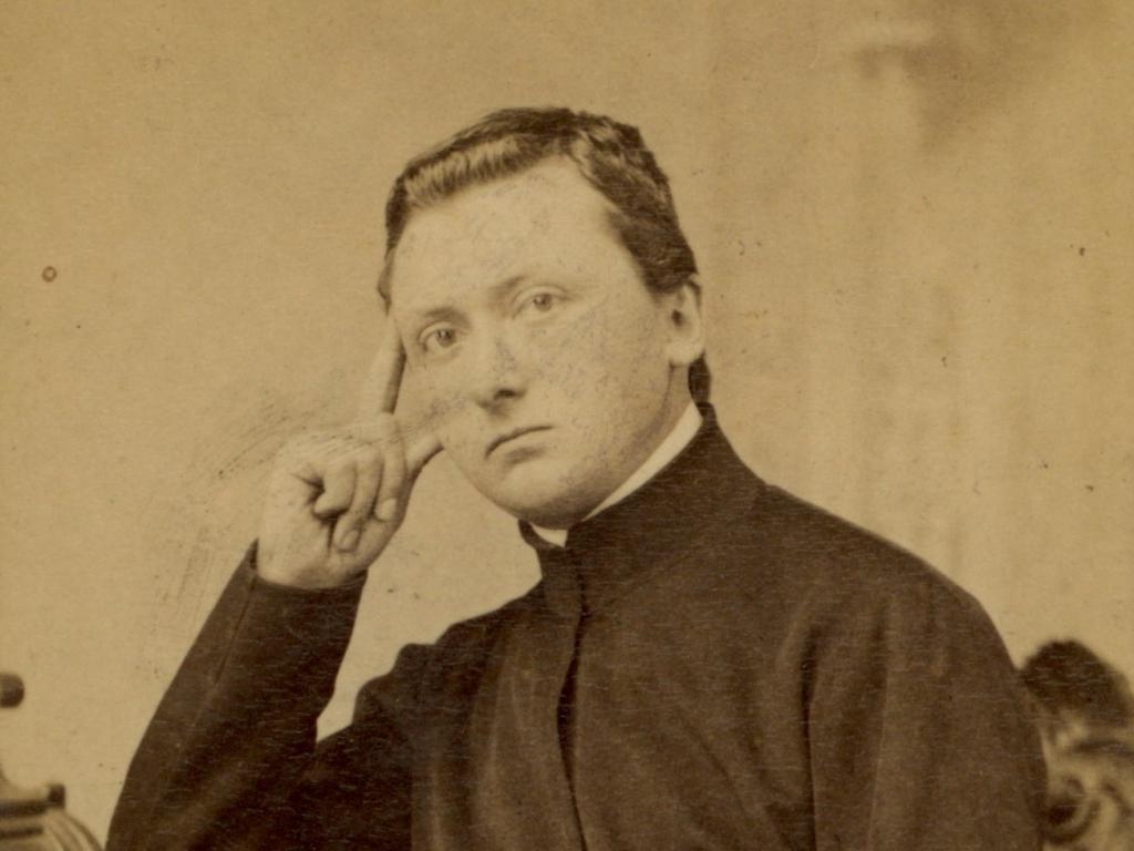 Walery Rzewuski, portret niezidentyfikowanego księdza