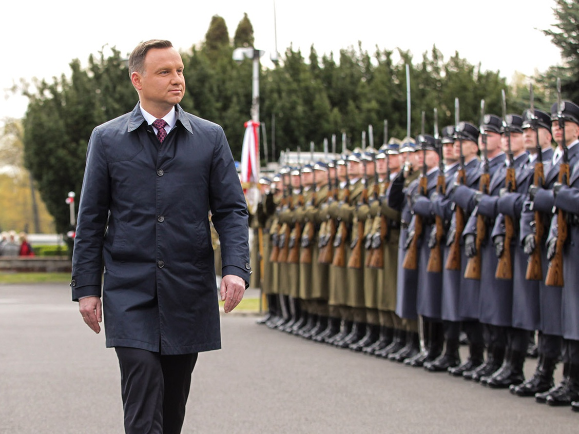 Prezydent Andrzej Duda 25 kwietnia