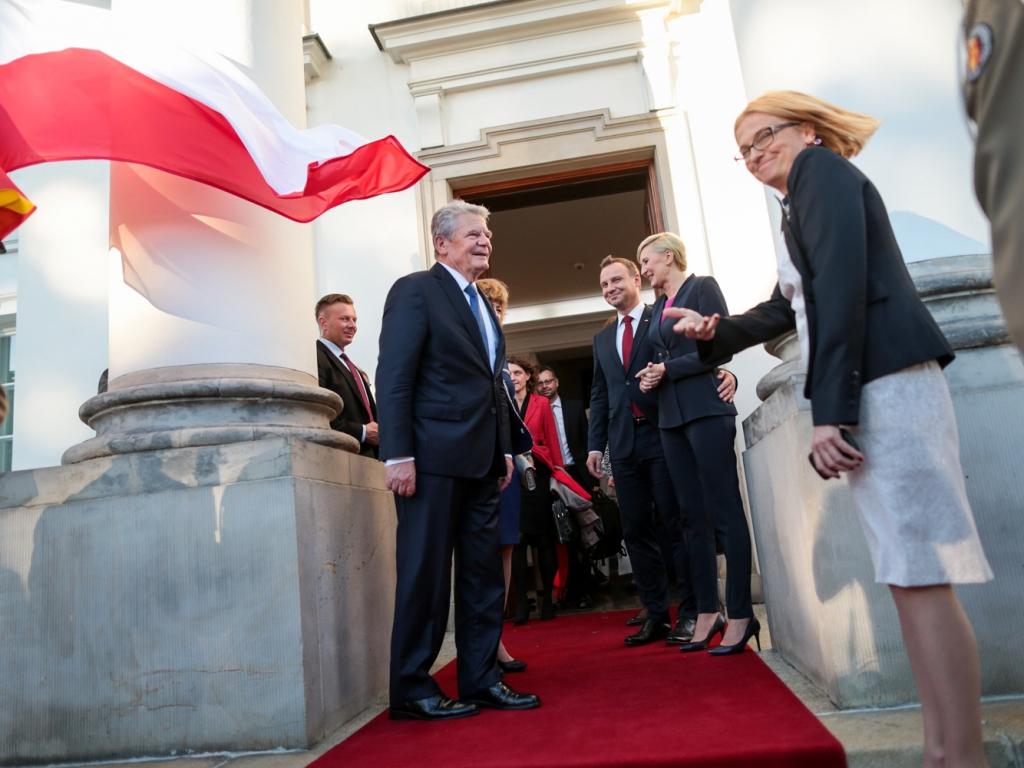 Wizyta prezydenta Niemiec Joachima Gaucka w Warszawie