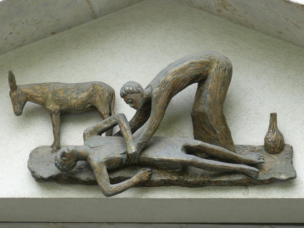 Przypowieść o miłosiernym Samarytaninie, ks. Andrzej Draguła