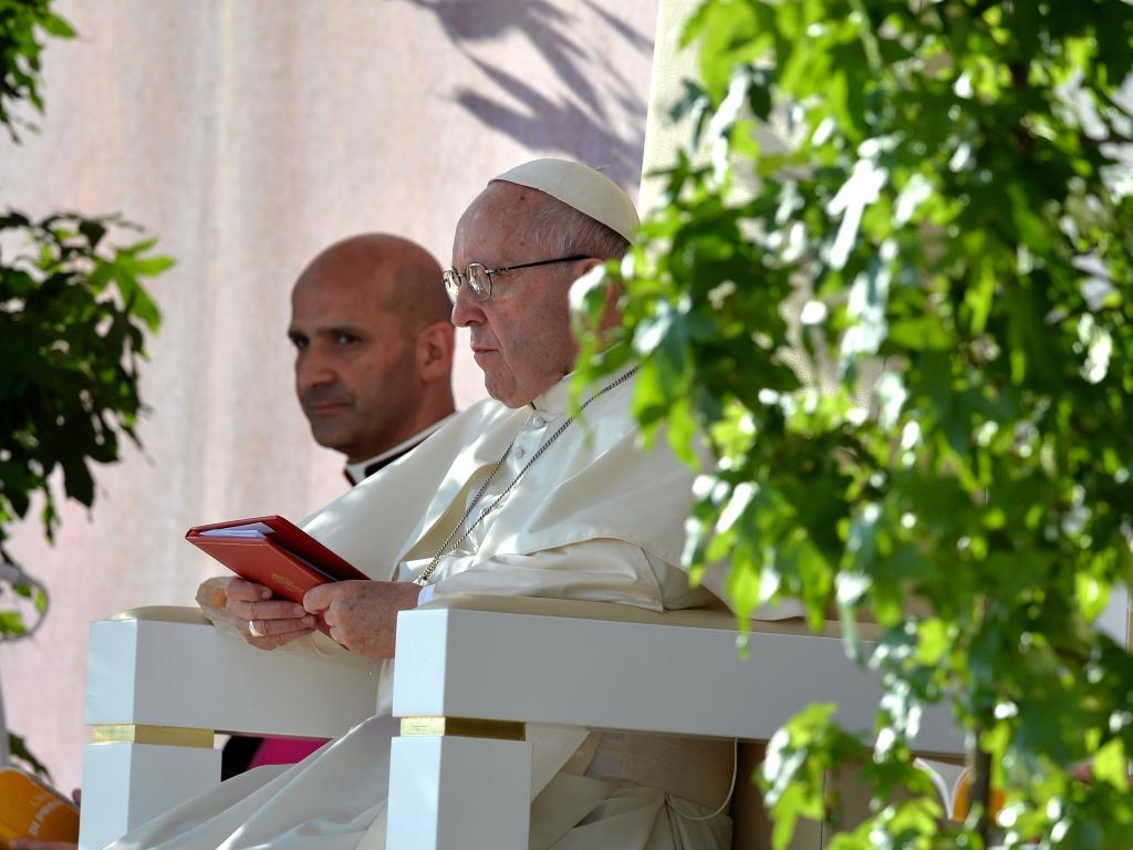 Droga Krzyżowa z udziałem Franciszka na krakowskich Błoniach 29 lipca