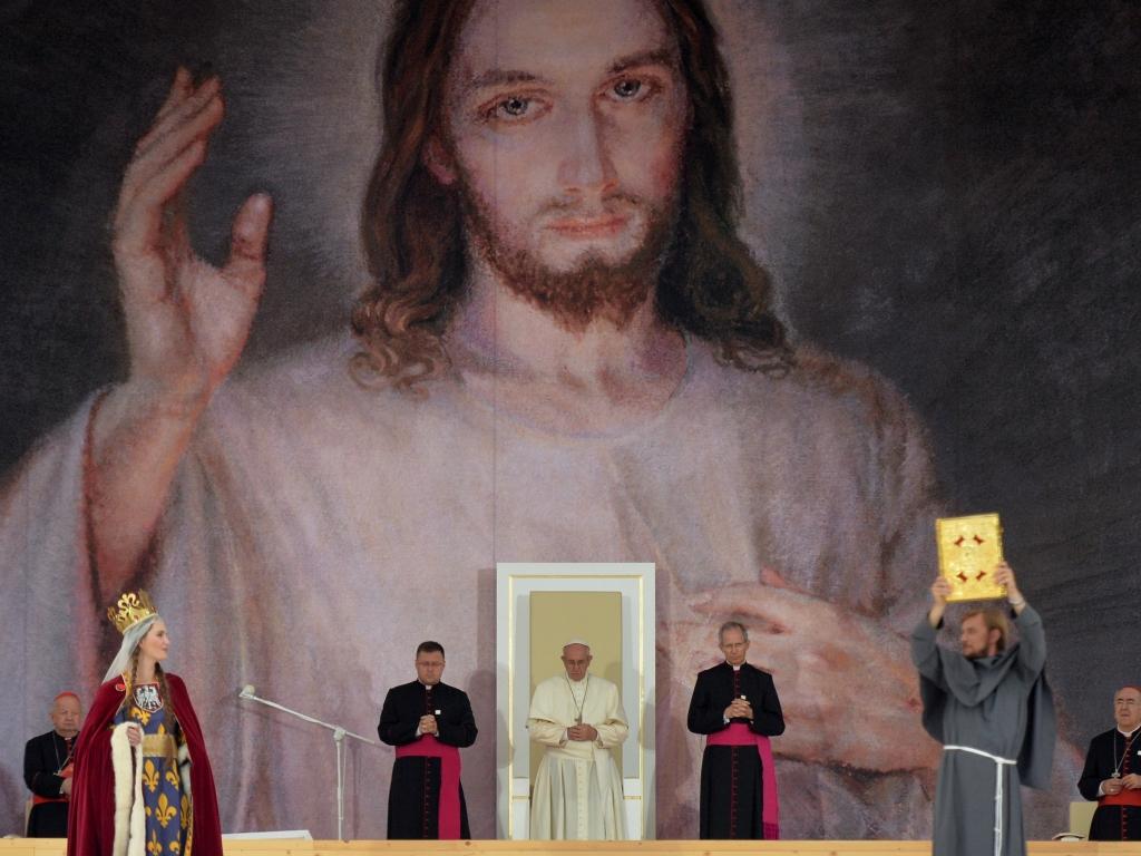 Franciszek na Błoniach w Krakowie 28 lipca