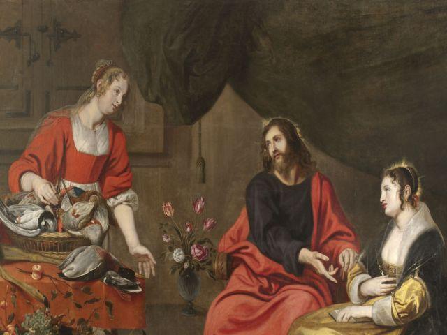 Jezus w domu Marii i Marty