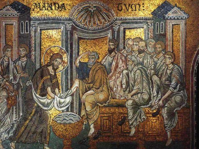 Chrystus obmywający nogi