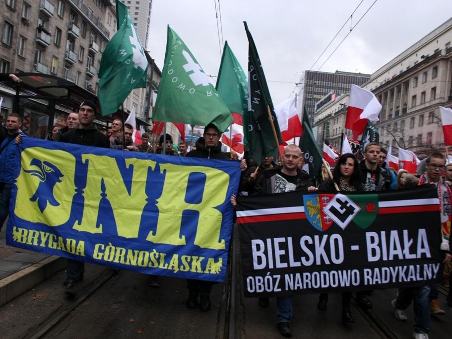 Marsz Niepodległości 11 listopada 2015 r. w Warszawie