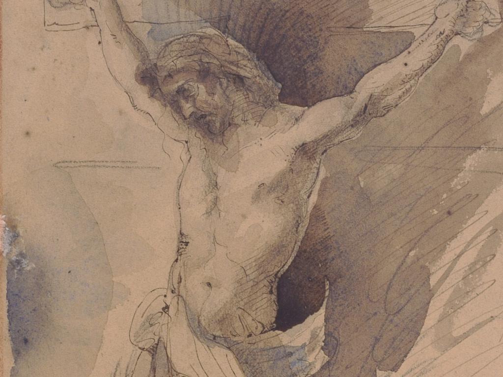"""Cyprian Kamil Norwid, """"Chrystus na krzyżu"""", 1857"""