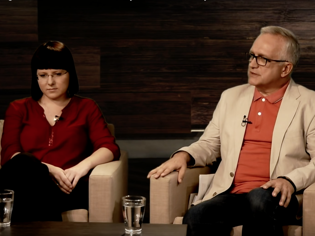 Kaja Godek i Zbigniew Nosowski w Salve TV