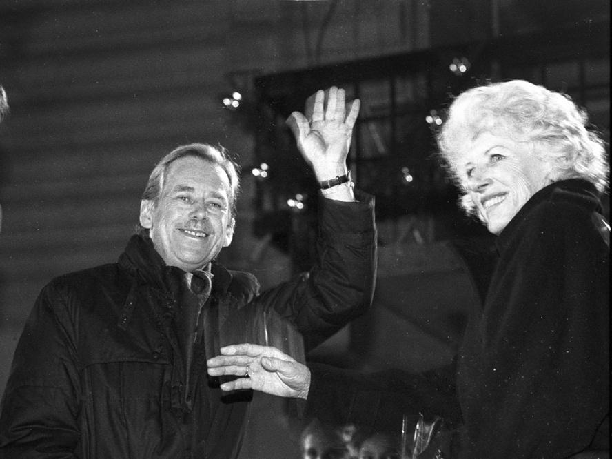 Václav Havel i Olga Havlová