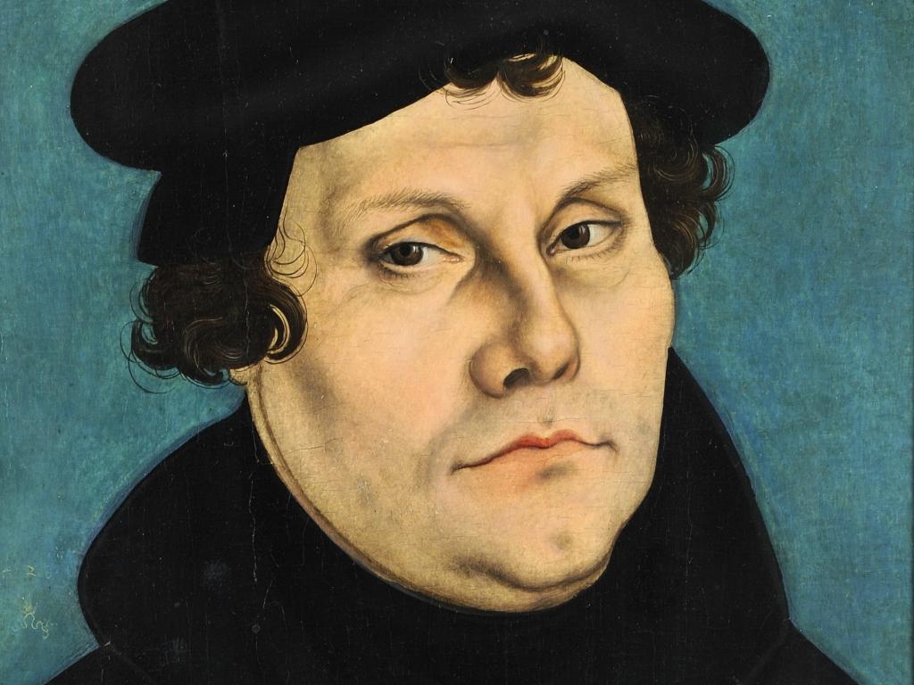 Lucas Cranach Starszy, portret Marcina Lutra, 1535 r.