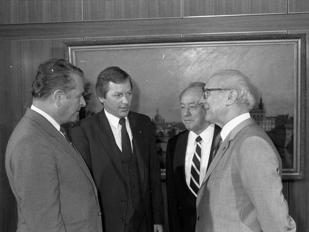 Honecker i Kiszczak