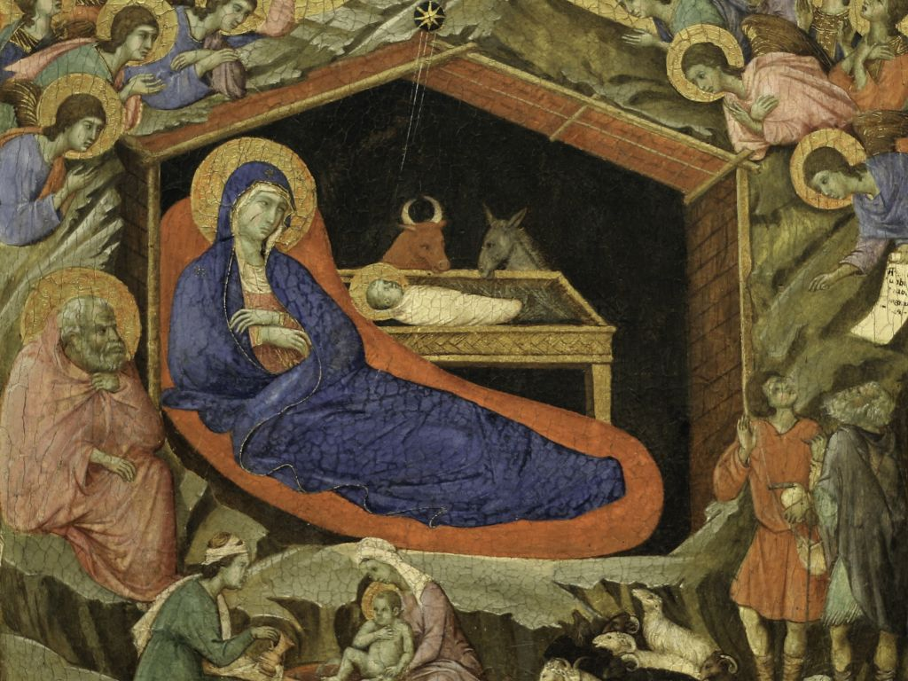 Duccio, Boże Narodzenie
