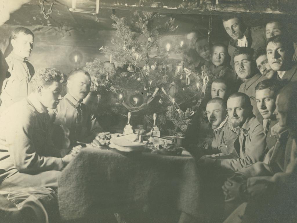 Karasin, Boże Narodzenie w okopie, 1916