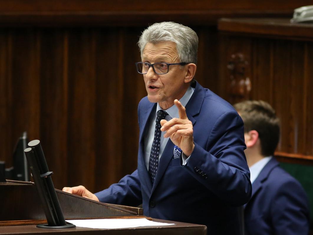 Stanisław Piotrowicz w Sejmie 29 listopada