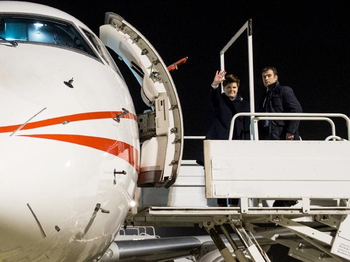 Wizyta premier Beaty Szydło w Strasburgu 19 stycznia