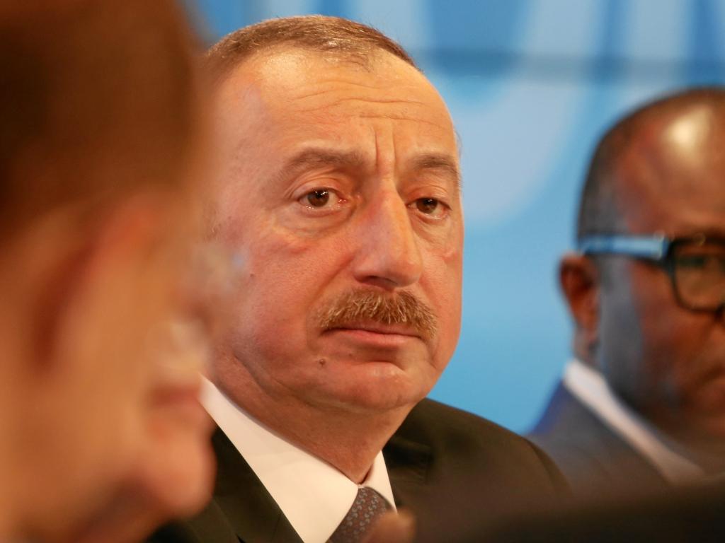 Prezydent Azerbejdżanu Ilham Alijew