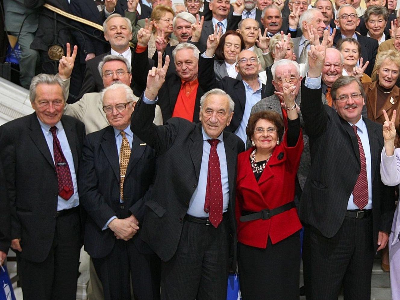 Spotkanie byłych posłów i senatorów Obywatelskiego Klubu Parlamentarnego w Sejmie