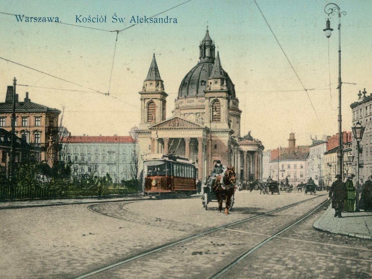 Kościół św. Aleksandra w Warszawie, rok 1915