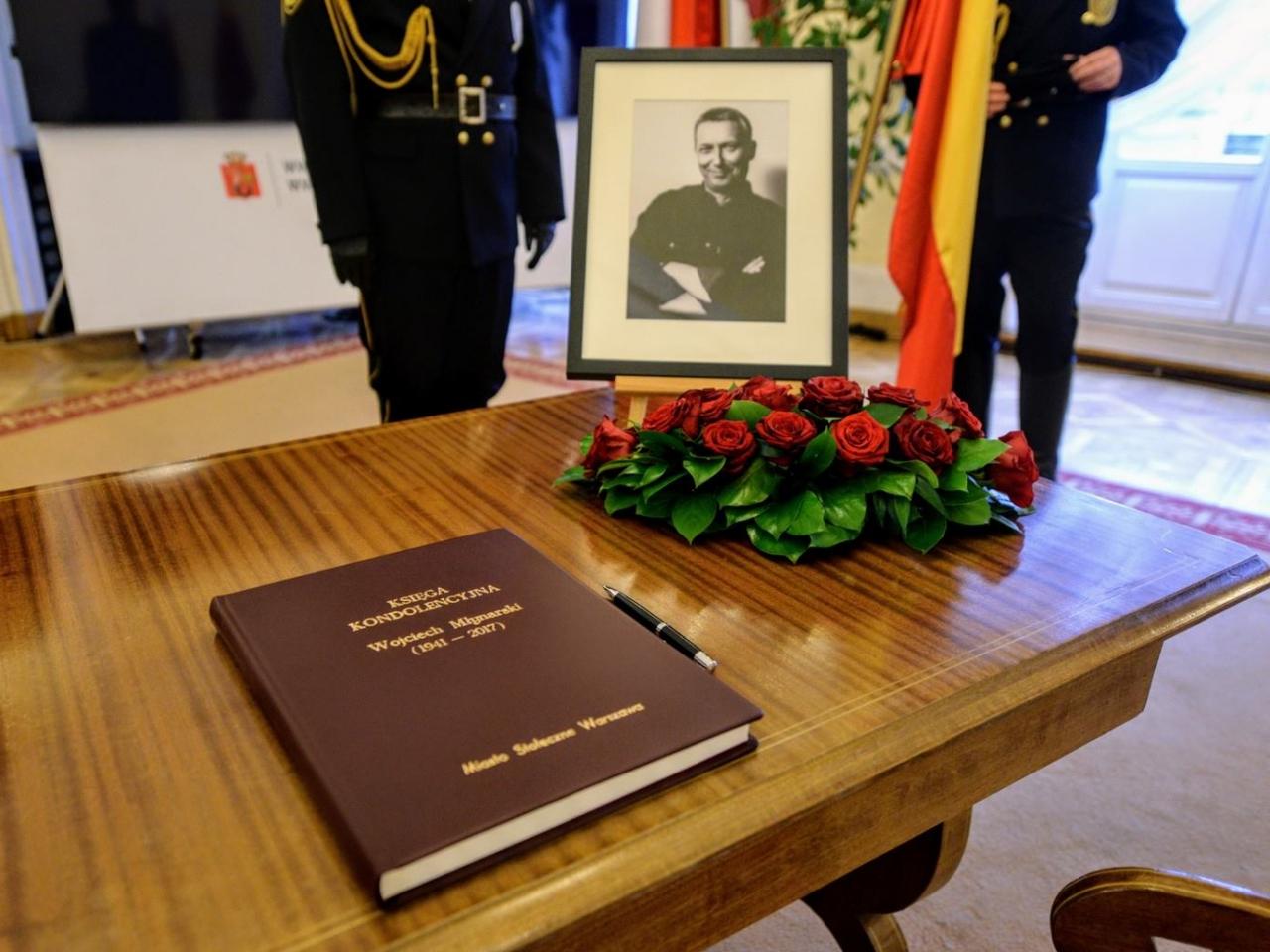 Pożegnanie Wojciecha Młynarskiego