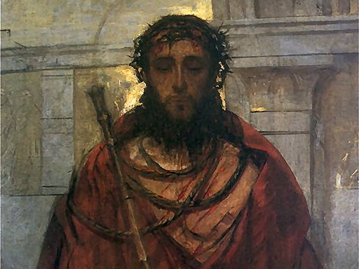 """""""Ecce Homo"""", obraz Adama Chmielowskiego"""