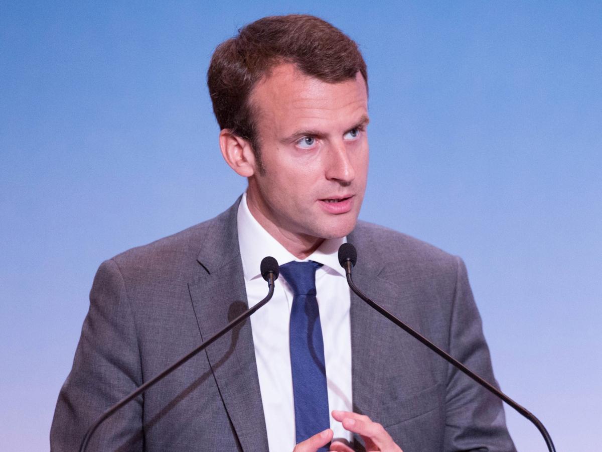 Emmanuel Macron laureatem Nagrody Karola Wielkiego