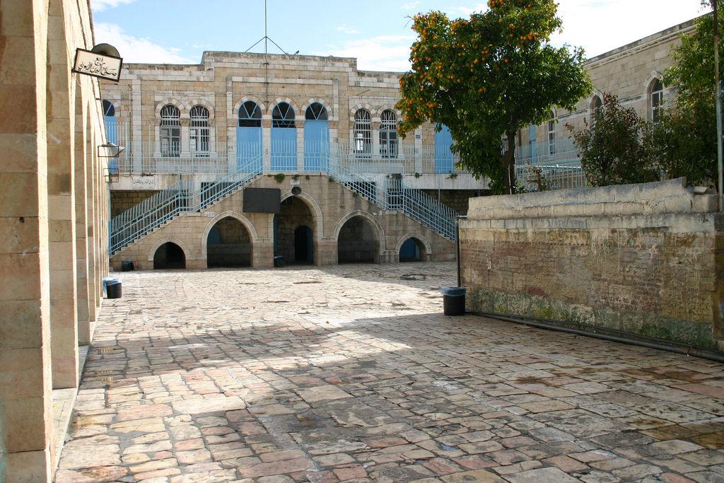 Pierwsza stacja Drogi Krzyżowej w Jerozolimie