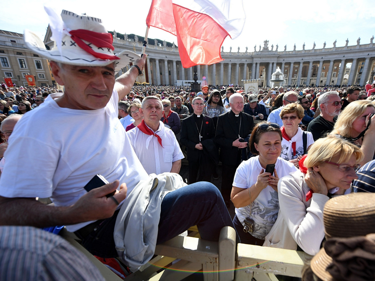 Anioł Pański z papieżem Franciszkiem 23 października 2016 r.