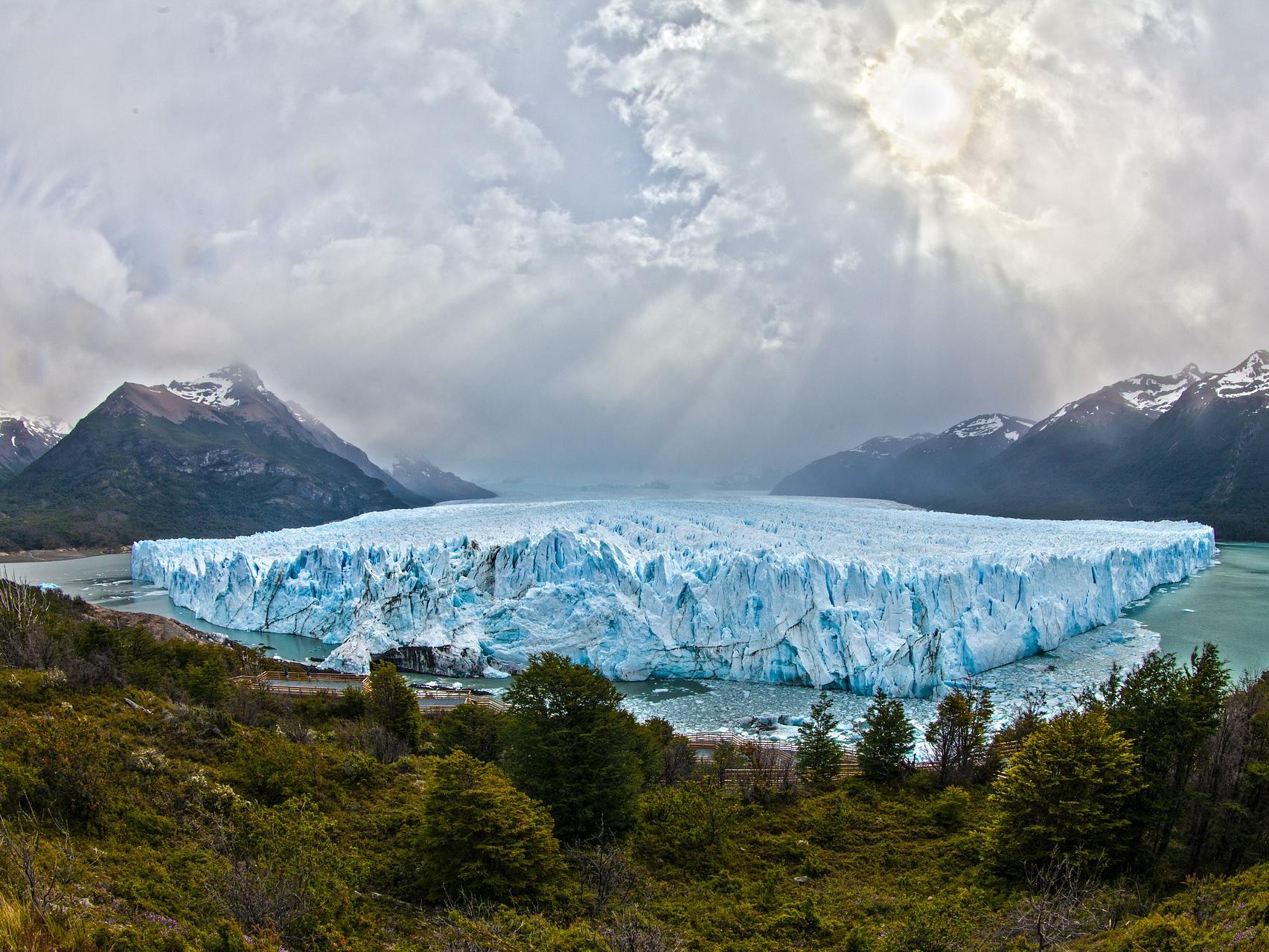 Perito Moreno w Patagonii