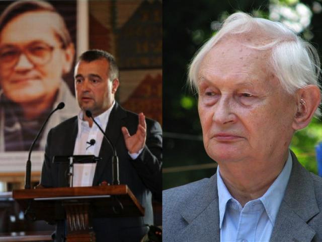 Bogdan Białek i Stefan Wilkanowicz