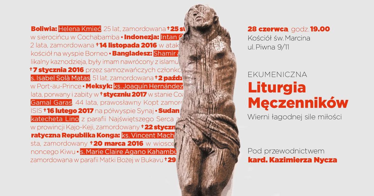 Ekumeniczna Liturgia Męczenników 2017