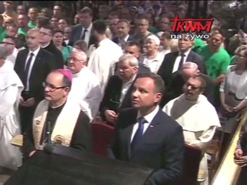 Andrzej Duda Częstochowa