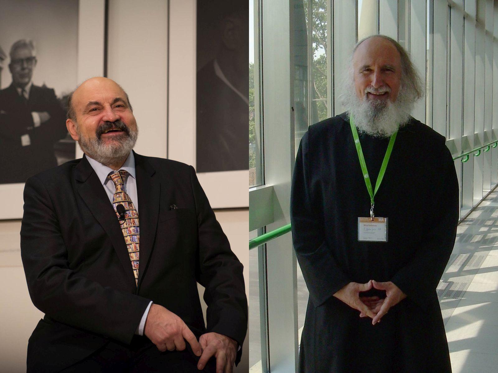 Ks. Tomáš Halík i Anselm Grün OSB