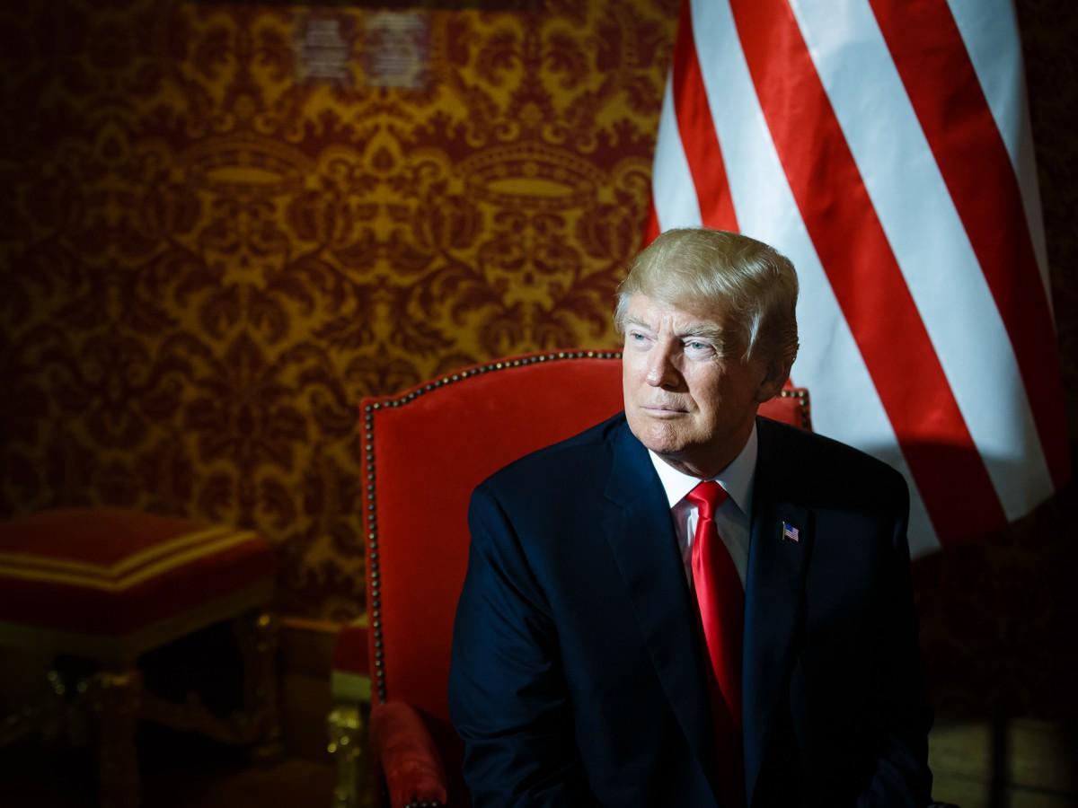 Prezydent Stanów Zjednoczonych Donald Trump