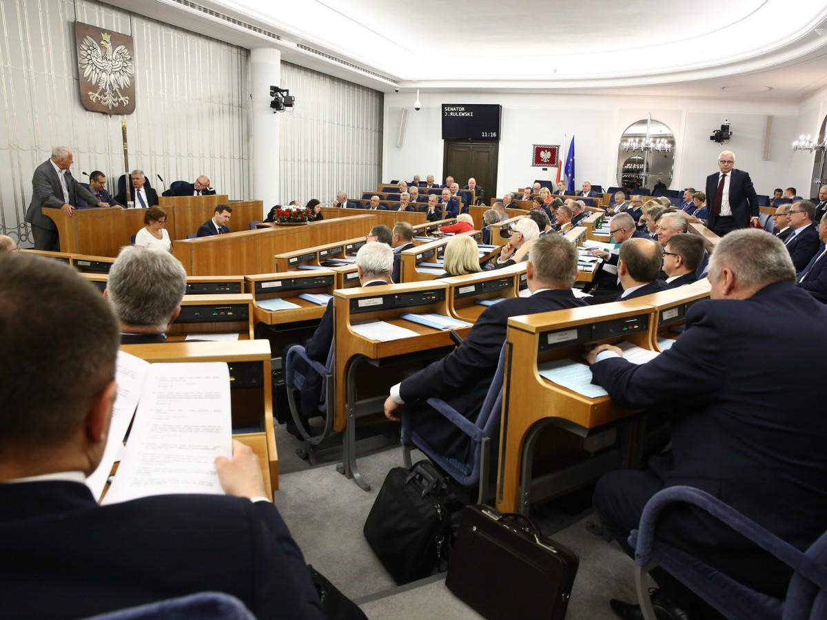 Posiedzenie Senatu 12 lipca