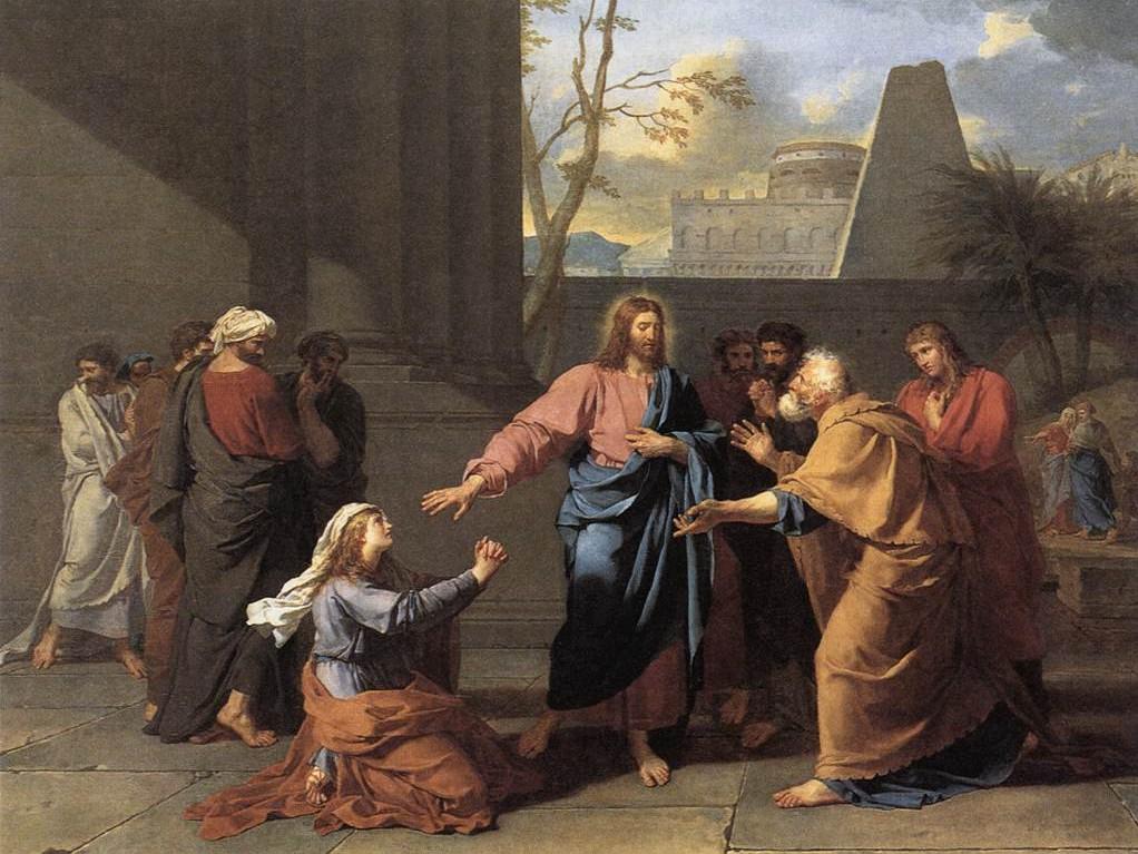 Jean-Germain Drouais, Chrystus i kobieta kananejska