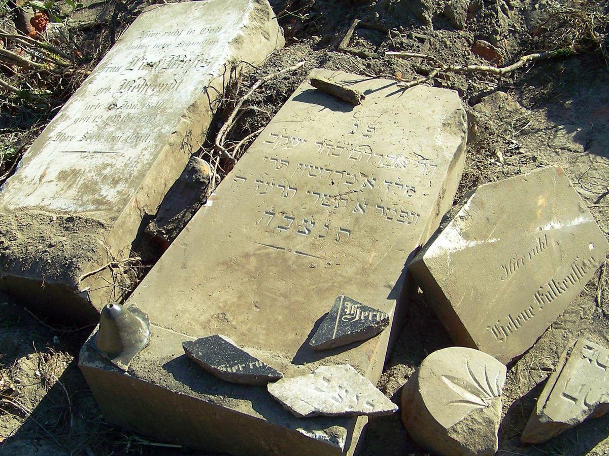 Cmentarz żydowski w Maszewie