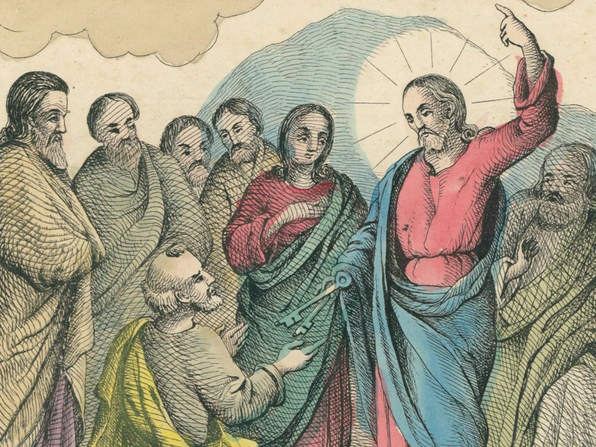 Chrystus Pan stanowi Świętego Piotra głową Kościoła swojego