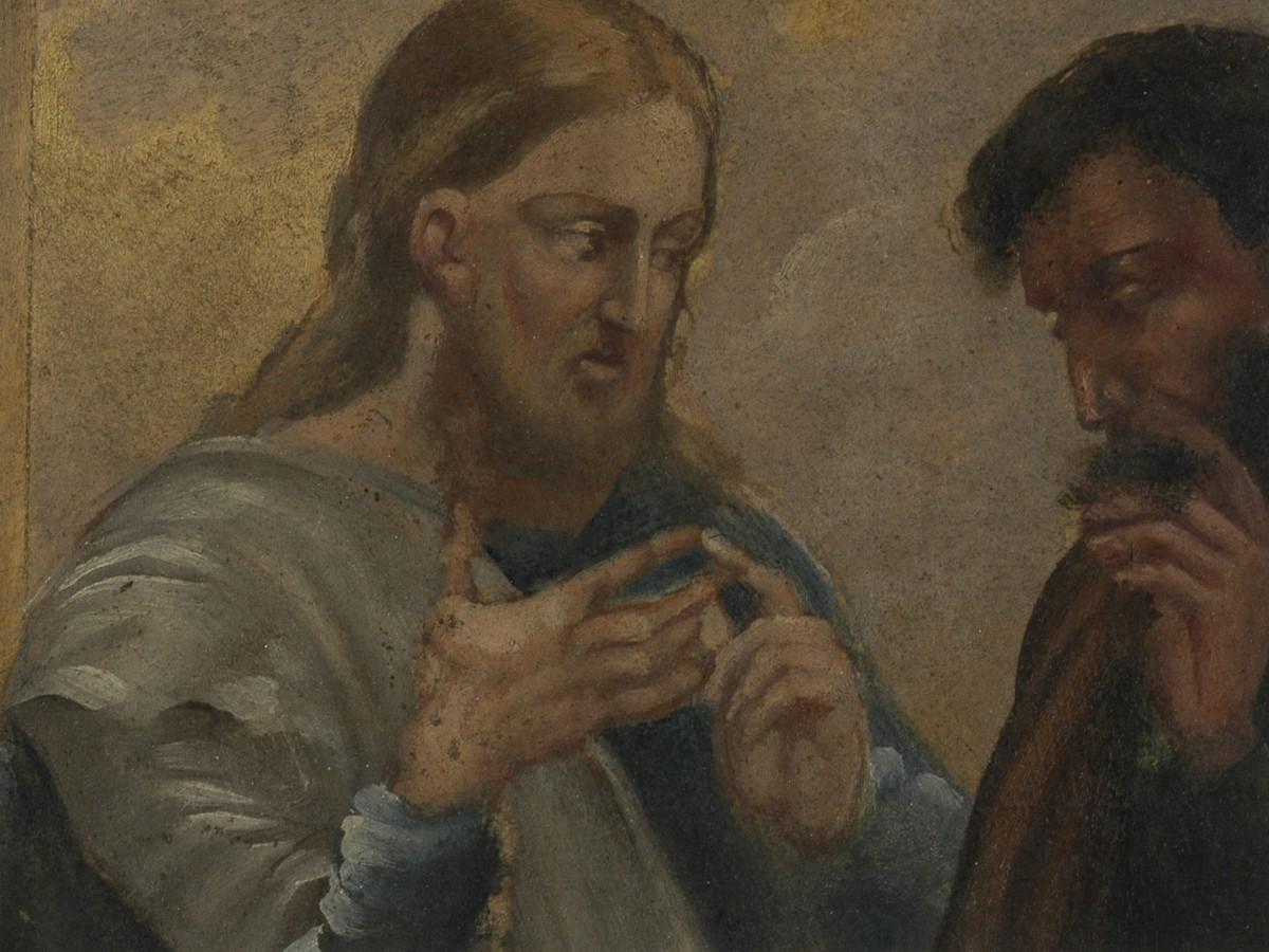 """Cyprian Kamil Norwid, """"Jezus Chrystus nauczający"""""""