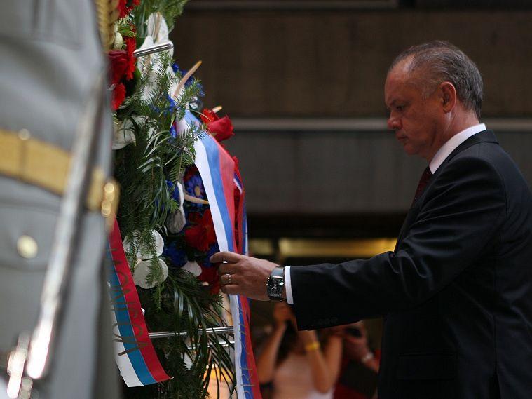 Prezydent Republiki Słowackiej Andrej Kiska