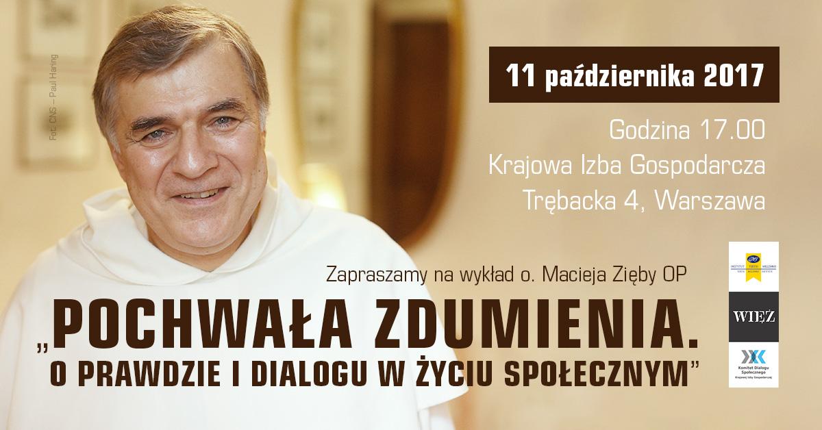 Maciej Zięba OP, Pochwała zdumienia. O prawdzie i dialogu w życiu społecznym