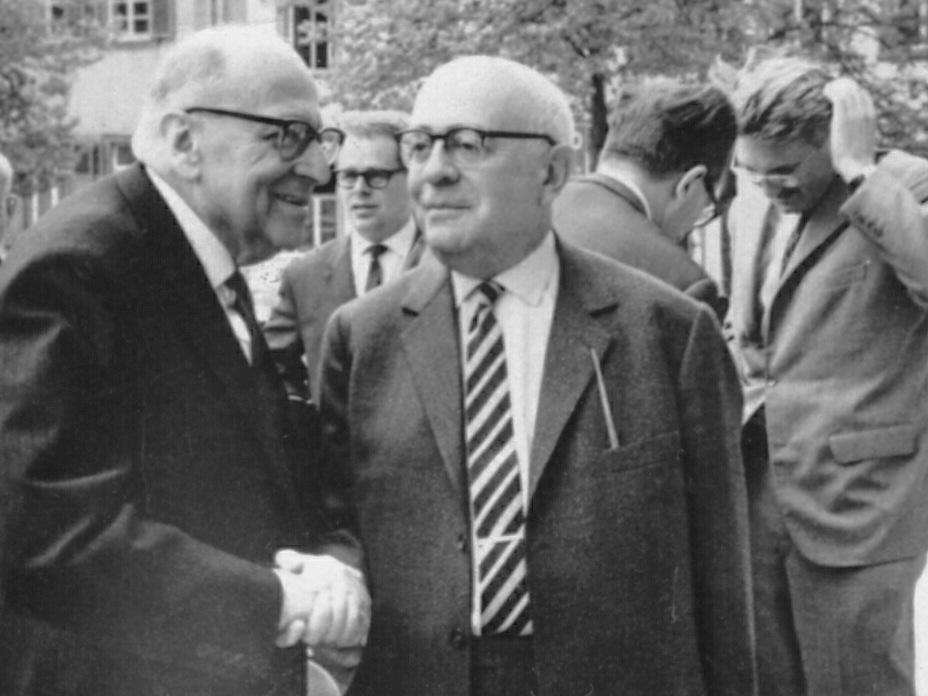Max Horkheimer, Theodor Adorno i Jürgen Habermas