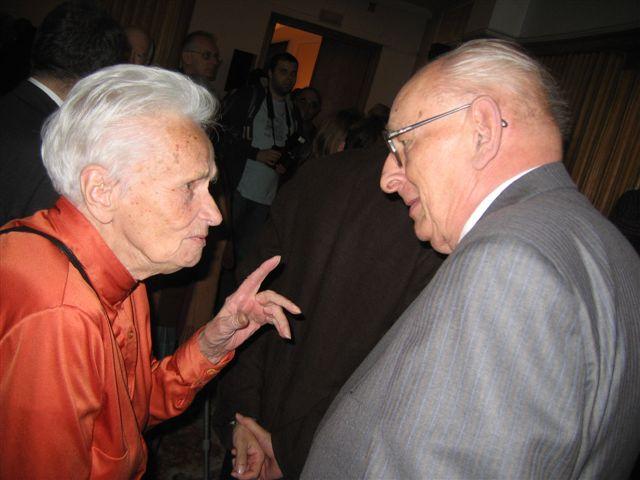 Barbara Skarga i Władysław Bartoszewski
