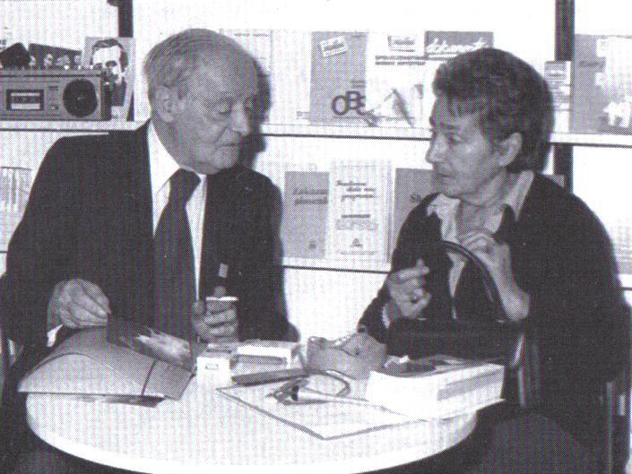 Zofia Hertz i Jerzy Giedroyc