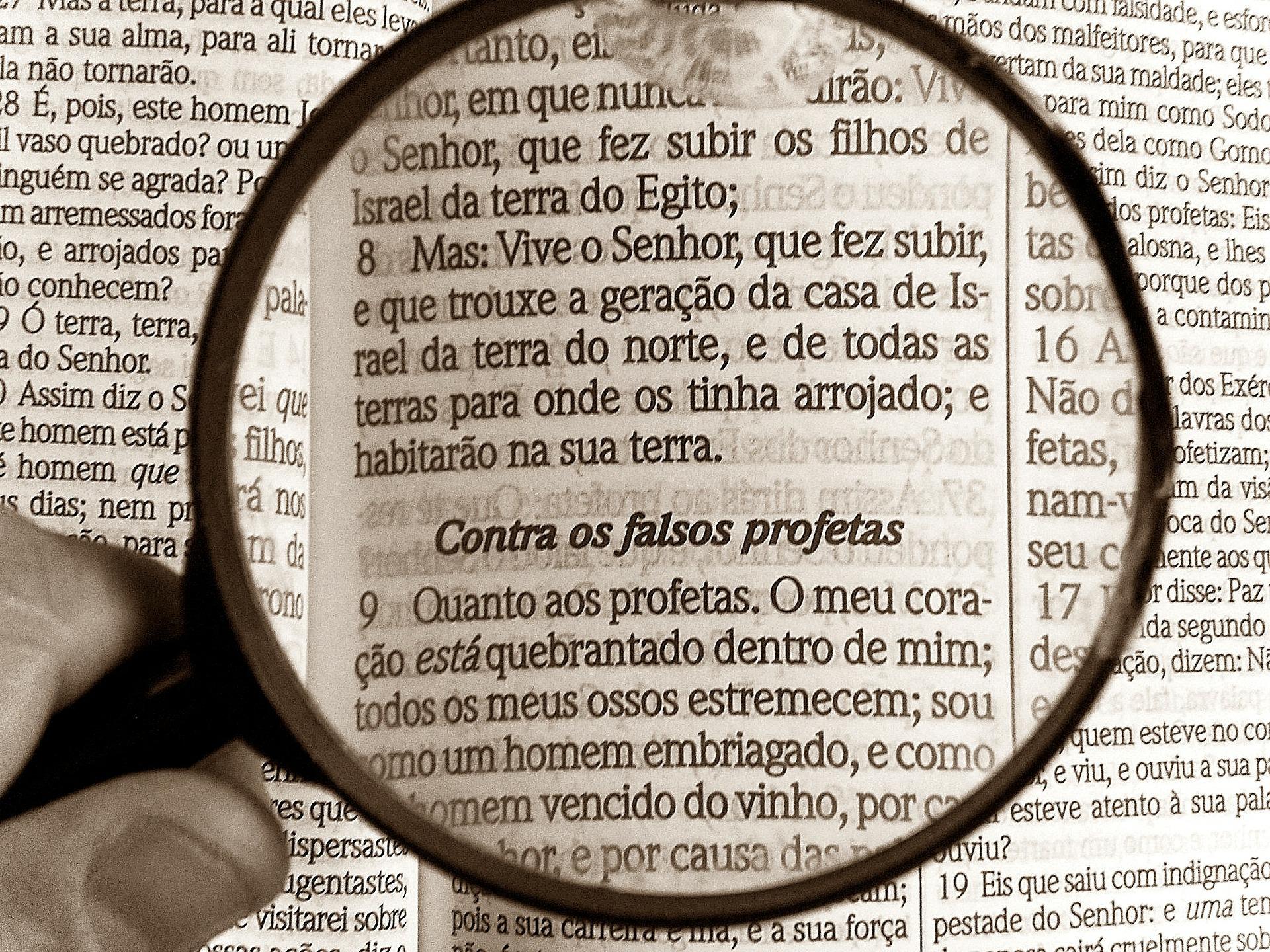 Biblia, fałszywi prorocy
