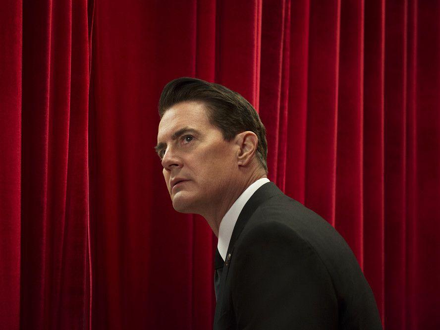 """Agent Dale Cooper (Kyle MacLachlan) w Czarnej Chacie. Trzeci sezon """"Twin Peaks"""" (2017)"""